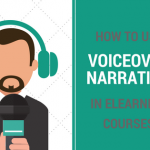 voiceover narration in elearning