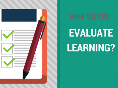 evaluate learning
