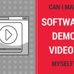 Can I make software demo videos myself
