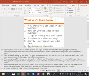 converting powerpoint to video