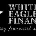 White Eagle Finance Logo Black